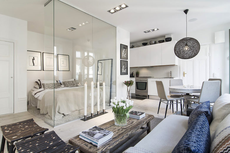 Căn hộ chung cư với diện tích nhỏ