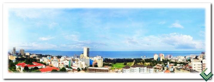 Hướng View biển Bãi Sau căn hộ Vũng Tàu Melody