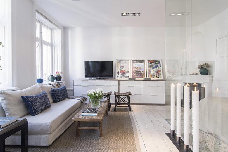 Không gian căn hộ chung cư dành cho người độc thân