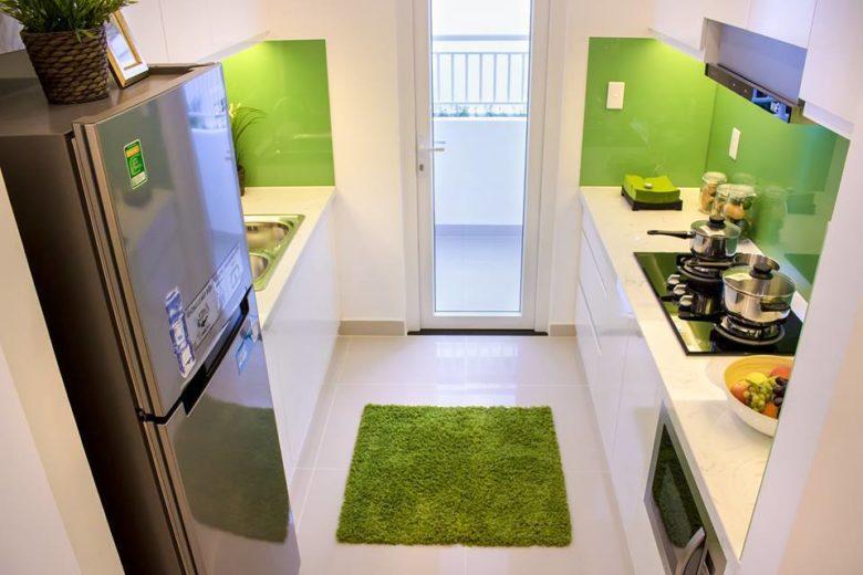 Không gian phòng bếp căn hộ Lavita garden thu duc