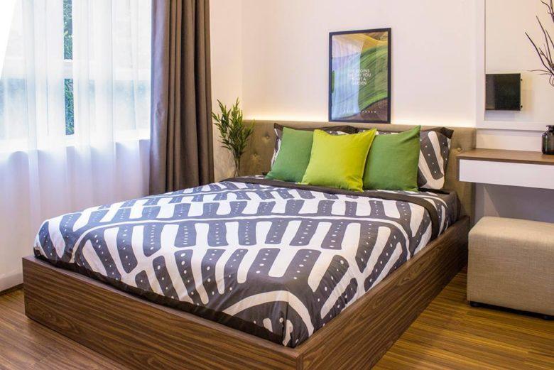 Phòng ngủ thoáng tại căn hộ lavita garden thủ đức