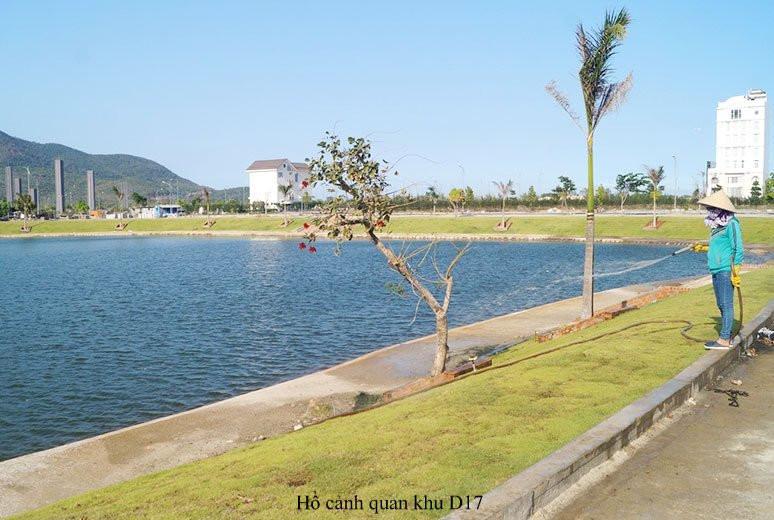Hồ Danh Vọng Golden bay Cam Ranh hoàn thành