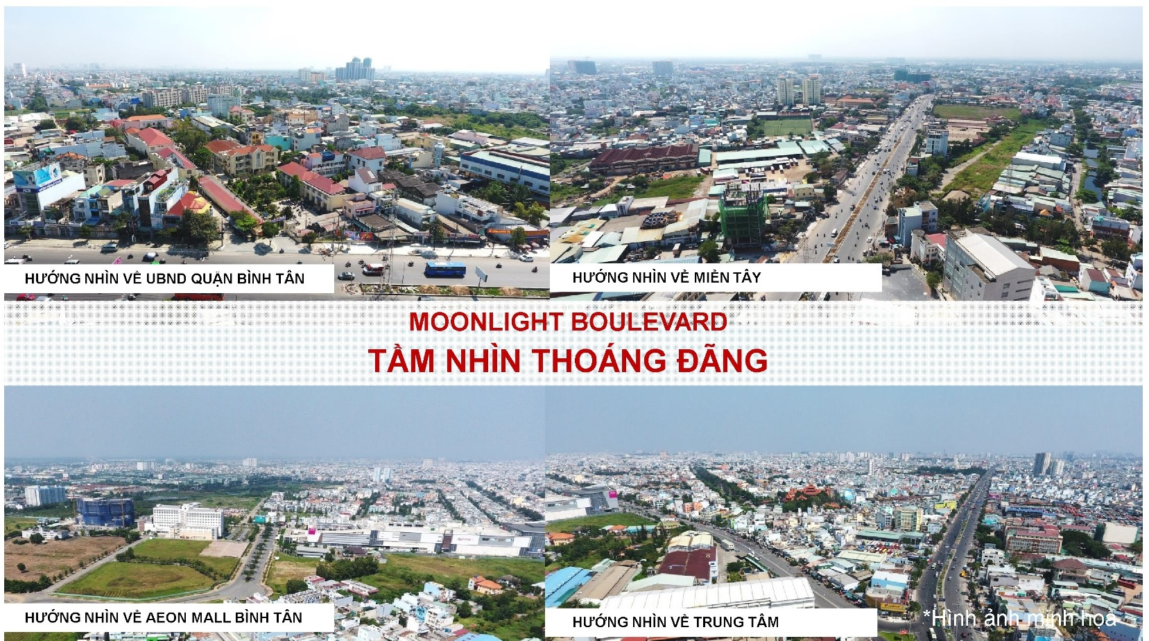 Tầm nhìn căn hộ Moonlight Boulevard