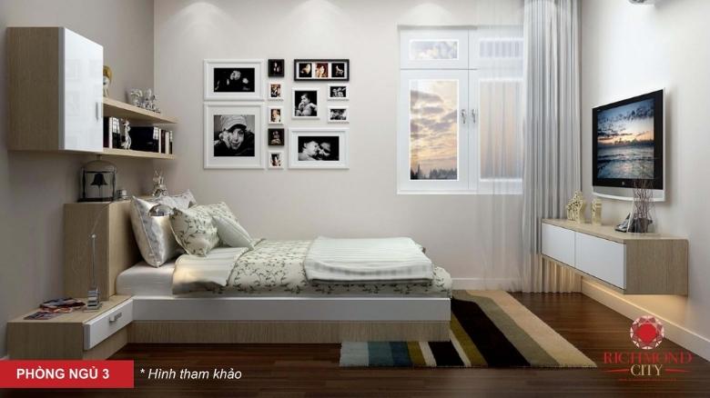 Phòng ngủ 3tại căn hộ Richmond citya