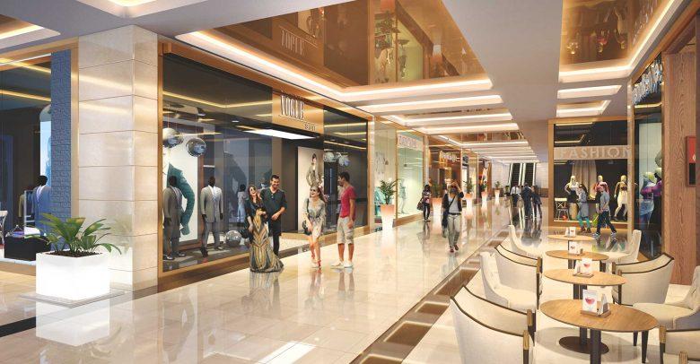 trung tâm thương mại tại dự án Richmond city